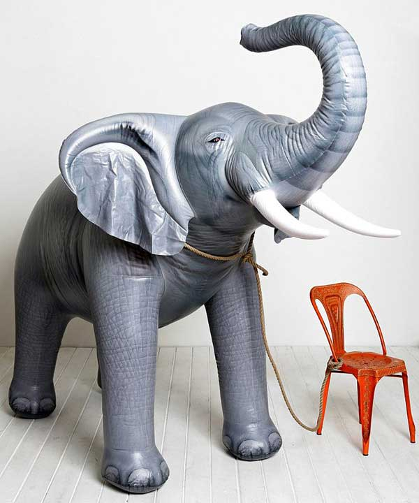 Oversized Inflatable Elephant – Don't try to ignore the elephant in the room