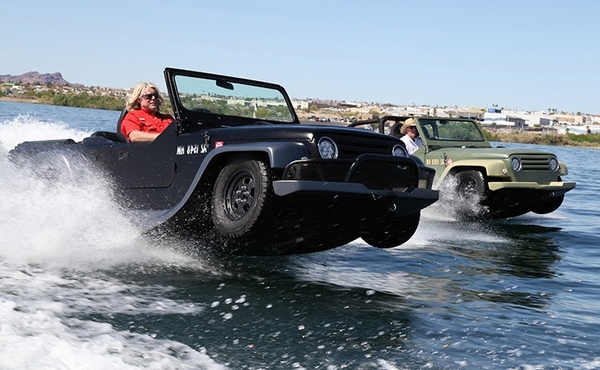 pantherbywatercar 1 Panther from Watercar   the fastest amphibious car in the world [Video]