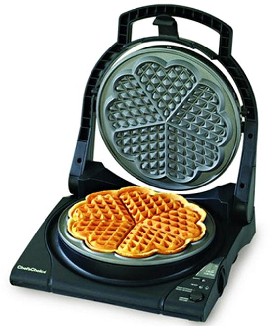 Heart-Shaped Waffle Maker – Something sweet for the sweetie