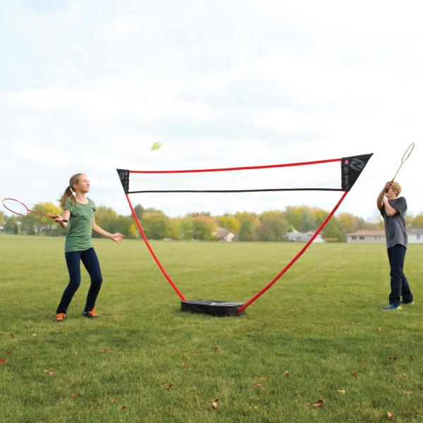Instant Badminton Court – 1, 2, 3, and you get a badminton court