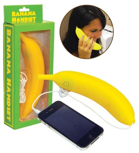 Banana Cell Phone Handset – perfect for those boardroom bun fights