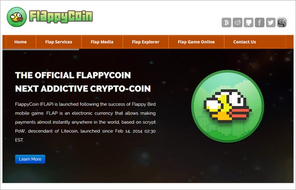FlappyCoin – the new crypto currency modeled after a defunct game…wait wat…?