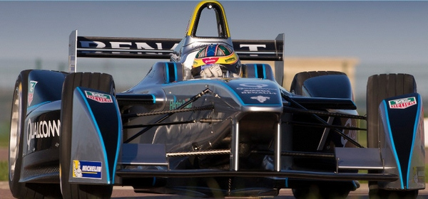 formulae Formula E set to take off   all electric racing to rival Formula One, but silently...