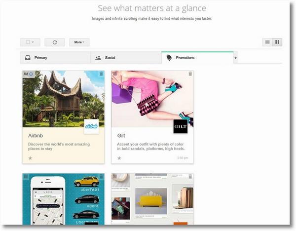 Google now wants to Pinterest your inbox