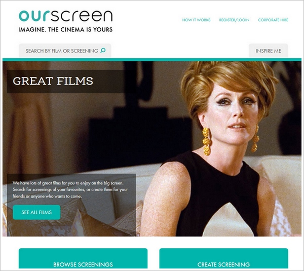 OurScreen – crowd powered cinema comes to life