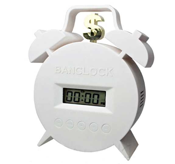 Pay To Snooze Alarm Clock – no cash, no peace and quiet…