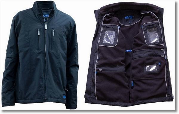 AyeGear 22 – the ultimate bulge free, water resistant, 22 pocket geek traveler jacket