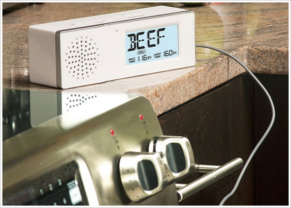 Bluetooth Speaker With Roasting Thermometer – from the 'what the heck?' department