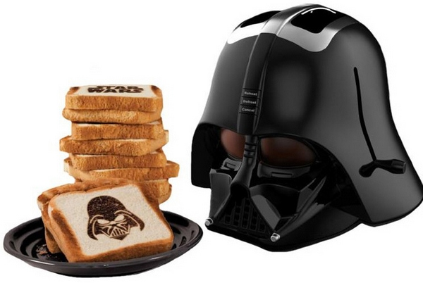 Darth Vader Toaster – must. resist. urge. to. use. a. dark. side. joke.