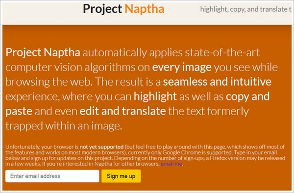 projectnaptha Project Naptha   amazing new browser tool lets you grab, erase or translate text from images or scans [Freeware]