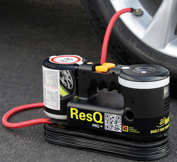 ResQ Plus – automatic tire repairer and inflator
