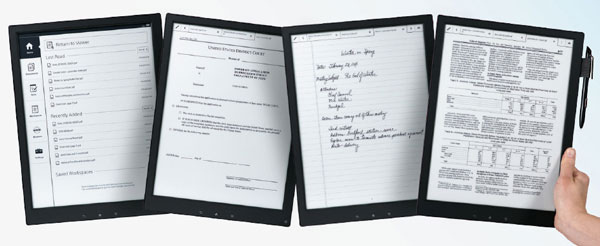Sony Digital Paper – because ordinary paper is for kids