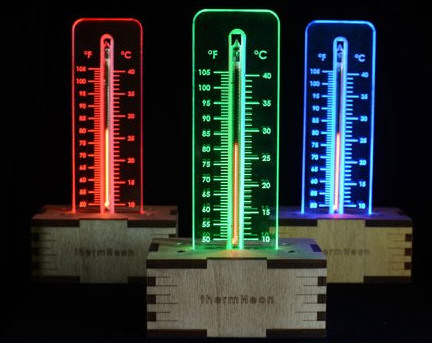 ThermNeon – the nixie room thermometer