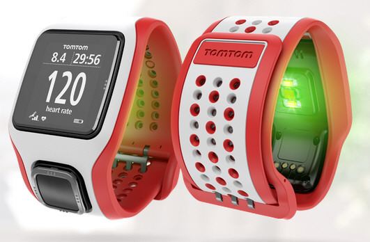 TomTom Runner Cardio Watch – heart rate monitoring without clumsy straps or apps
