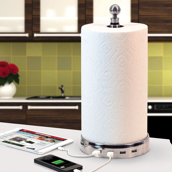 TowlHub – the only paper towel USB hub in the known universe…we think