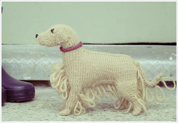 knityourowndogkit Knit Your Own Dog Kit   a perfect DIY best friend