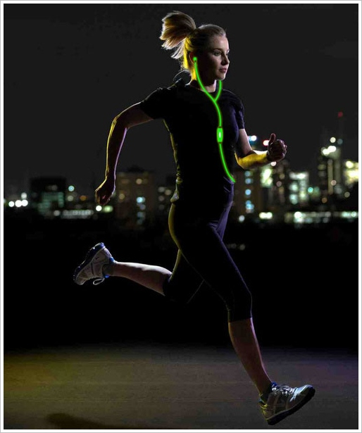Light Up Headphones – stay safe and be seen at night