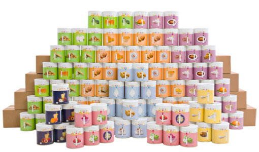 Thrive One Year Food Pack – 9687 servings, enough for 1 person for 1 year, $0.16 c per serving