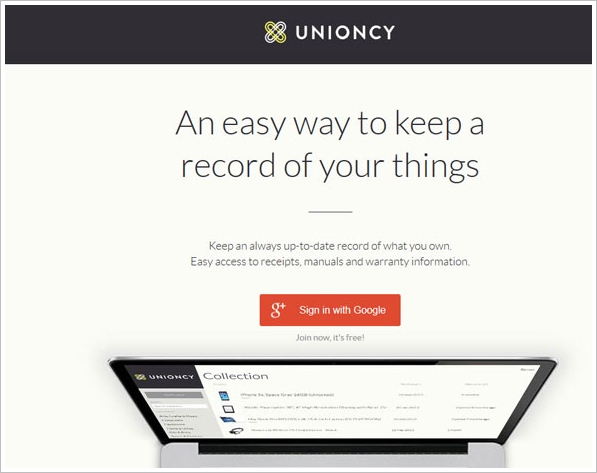 unioncy Unioncy   do you have a problem losing your product receipts and manuals?