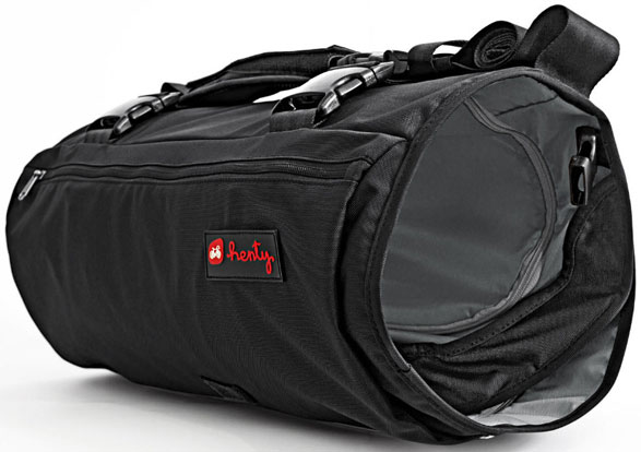 Wingman – sports bag, garment bag, laptop case and waterproof rucksack all in one