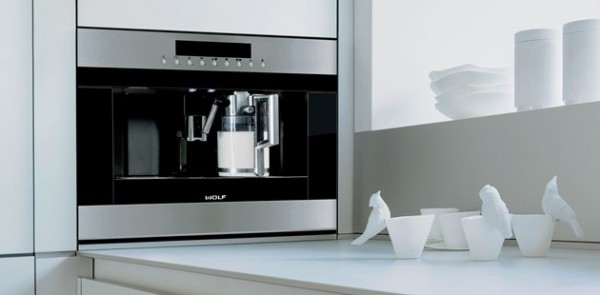 Wolf Built-in Coffee System – the supercomputer of coffee makers