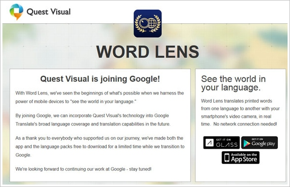 Word Lens – awesome translation app for iOS and Android is now free, and part of Google [Freeware]
