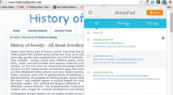 annopad2 AnnoPad for Chrome   annotate webpages like a pro [Freeware]