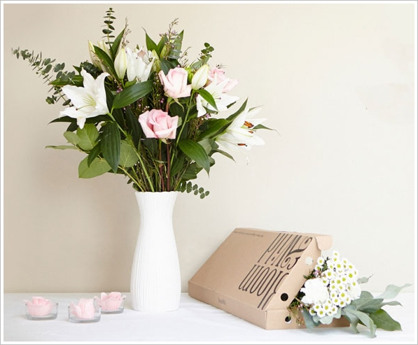 Bloom & Wild – super fresh flat-pack flowers impossibly delivered through your letterbox