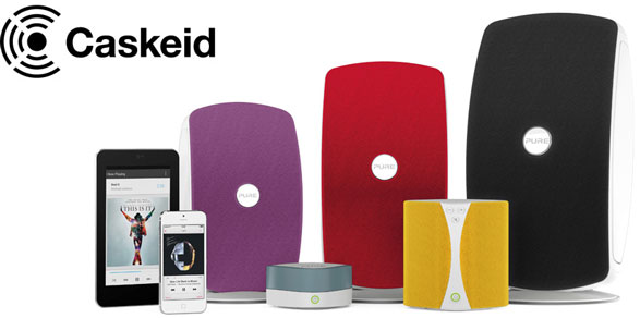 Bluetooth Caskeid – Pure's cool new tech lets you stream music to every room in perfect sync