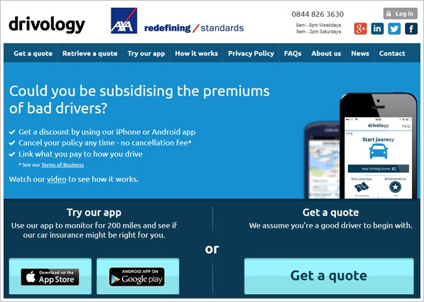 Drivology – big brother wants to reduce your car insurance premiums…are you game for a bit of Orwell in your life?