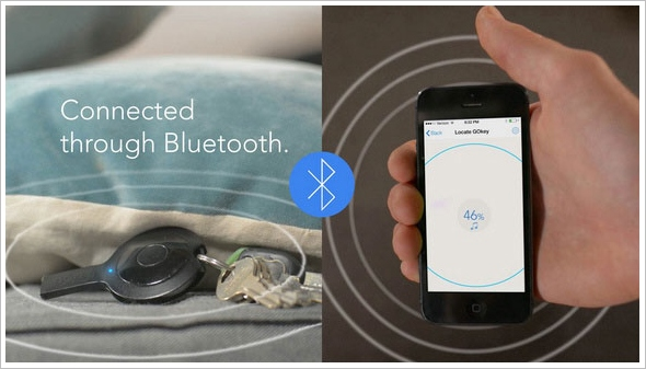 GoKey – a charger, sync cable, phone locator, memory stick and remote control all on your keyring