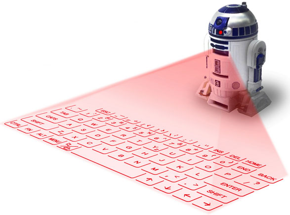 R2-D2 Infrared Keyboard – so many jokes, so little time…