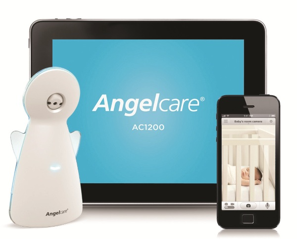 Angelcare AC1200 – ultra monitoring system lets you track your sleeping infant from anywhere