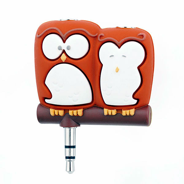 Companion Owls Headphone Splitter – share music not ear wax