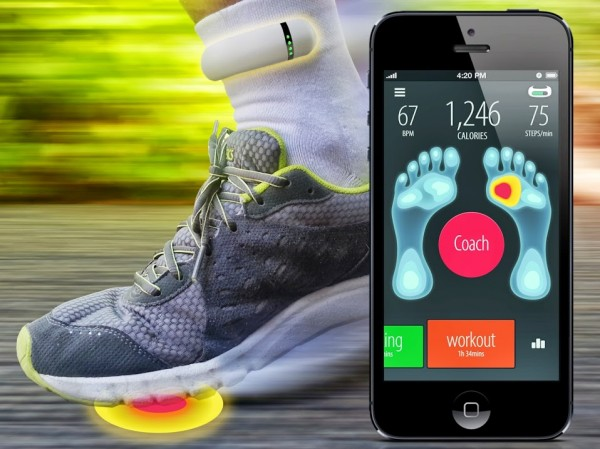 Sensoria Fitness Socks – correct your fitness technique now, before you hurt yourself