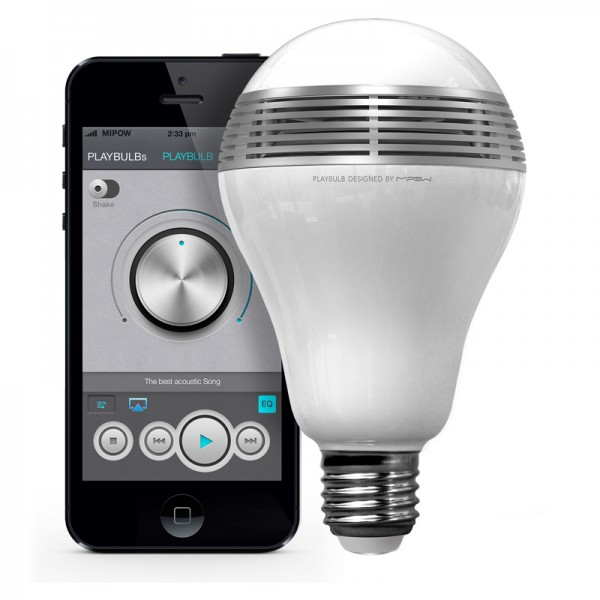 Playbulb – smart lamp delivers mood and music in one