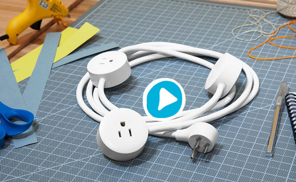 Pod Power – the power strip that thinks it's an extension cord too