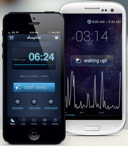 sleepbot SleepBot   this sleep cycle alarm helps you sleep better, wake refreshed [Freeware]