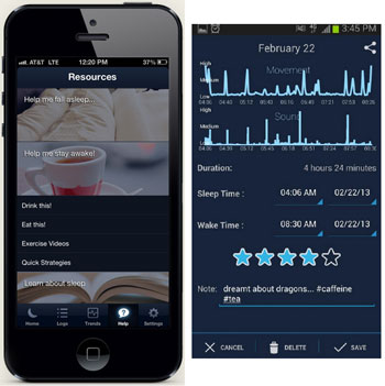 sleepbot7 SleepBot   this sleep cycle alarm helps you sleep better, wake refreshed [Freeware]