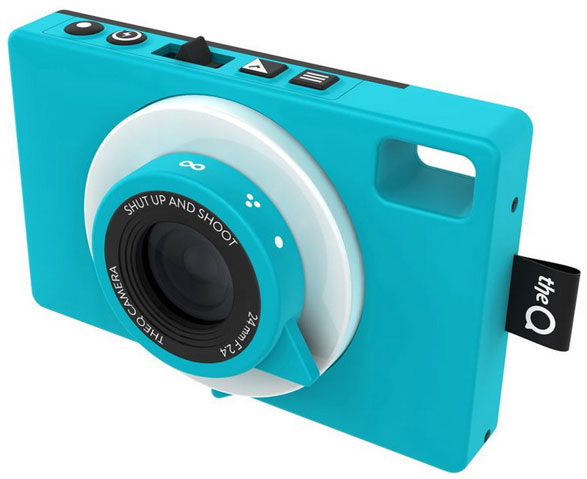 theQ – the world's first waterproof social camera shares your photos instantly with in-built 3G