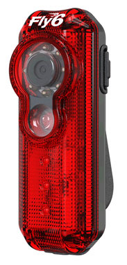 Fly6 – bicycle tail light and HD camera combo keeps cyclists safe and makes motorists more careful