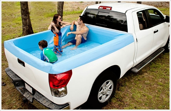 Pickup Pools – cute mobile swimming pool lets you splash and go