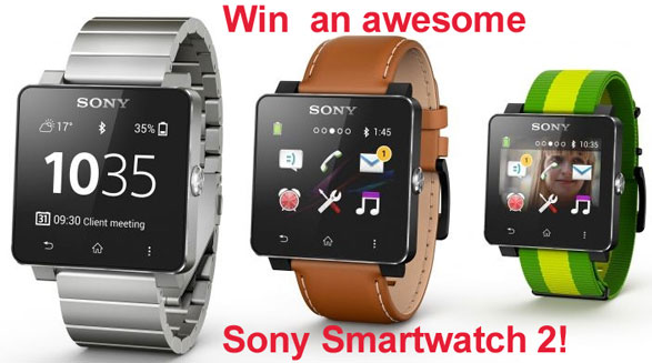 Sony SmartWatch 2 Giveaway Reminder – don't forget it's still up for grabs!