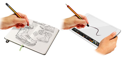 stretchwrite21 StretchWrite   instantly turn your pen or pencil into a digital stylus with this clever sleeve