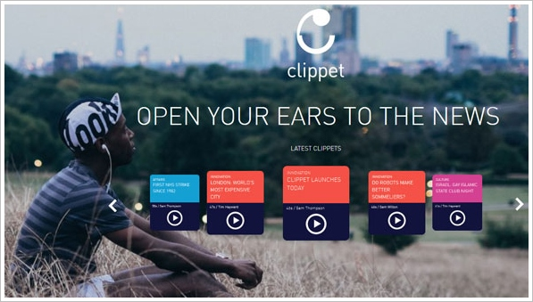 Clippet News – audio news clips delivered to your phone means you'll never have to read again…maybe [Freeware]