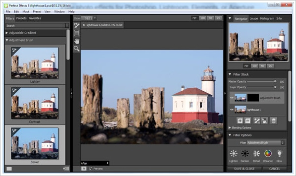 Perfect Effects 8 Free – free photo effects turn you into an image editing pro [Freeware]