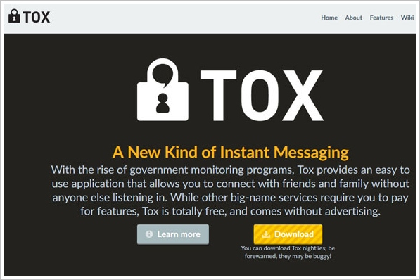 tox3 1 Tox   a new kind of secure instant messaging to replace Skype