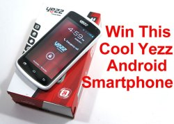 Red Ferret Giveaway 4 – win a cool Yezz Andy A4 Android Smartphone [Giveaway]