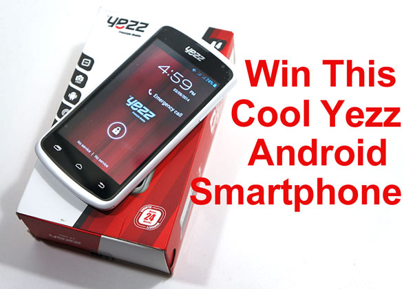 Final week of our Yezz Android Smartphone Giveaway!
