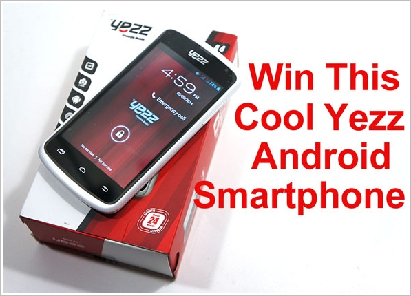 Red Ferret Yezz Android Smartphone Giveaway – FINAL 48 HOURS!